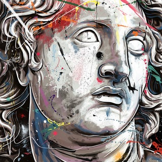 Maxwell Dickson 'Alexander The Great' Modern Canvas Wall Art