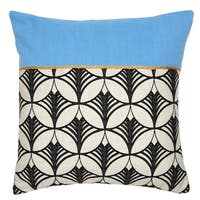 Kosas Home Suki Blue 18 inch Pillow