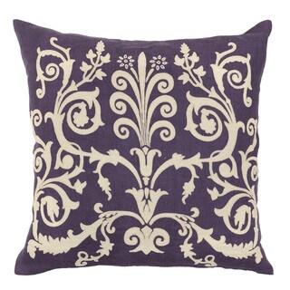 Kosas Home Dulce Plum 22 inch Pillow