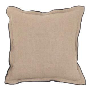 Kosas Home Efren Natural / Mauve 18 inch Pillow