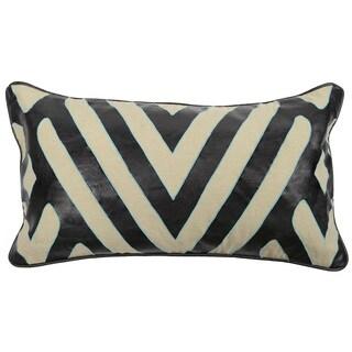 Kosas Home Rorey Sky and Black 14 x26 Pillow