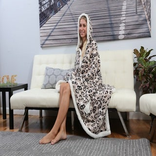 Chic Home Dixon 51x71 Hooded Snuggle Blanket
