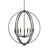 Colson Etruscan Bronze 9-Light Chandelier