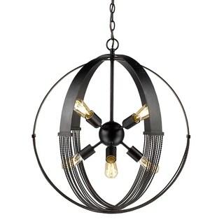 Carter 8-light Pendant in Aged Bronze