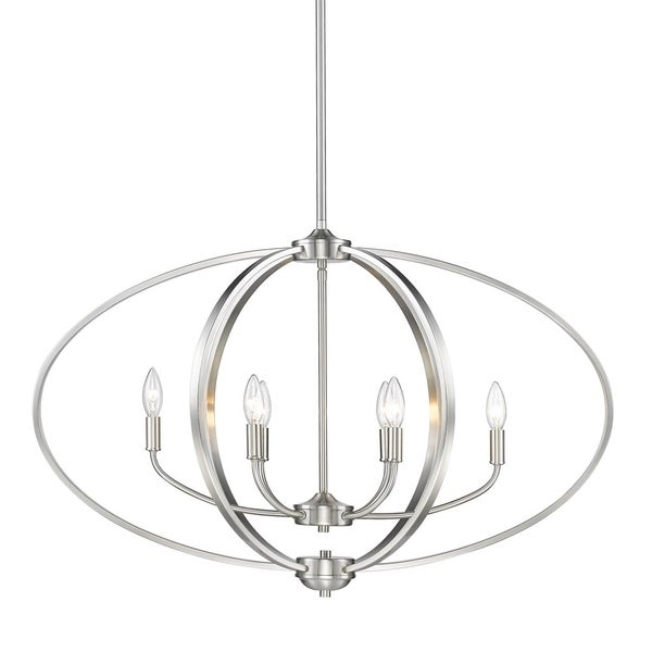 Colson PW Linear Pendant in Pewter