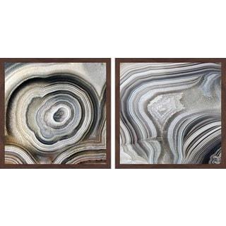 Nature Swirls Diptych