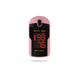 Concord Pink Finger Pulse Oximeter