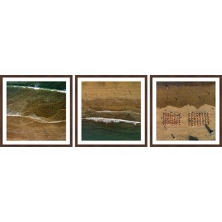 Beach Shadows Triptych