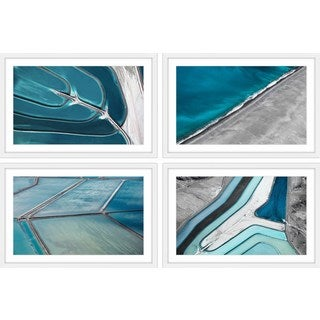 Water Channels Quadriptych