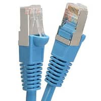 Fuji Labs Blue Cat6 STP Ethernet Network Booted Cable
