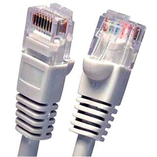 Fuji Labs Gray Cat5E UTP Ethernet Network Booted Cable|https://ak1.ostkcdn.com/images/products/14053754/P20668703.jpg?impolicy=medium