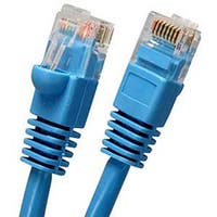 Fuji Labs Cat5E UTP Ethernet Network Booted Cable Blue
