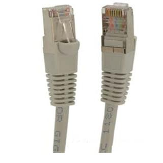Fuji Labs Cat5E STP Ethernet Network Gray Booted Cable