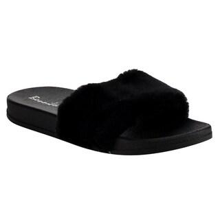 Bonnibel FG56 Women's Slip-On Indoor/Outdoor Flat Sandals/Slippers