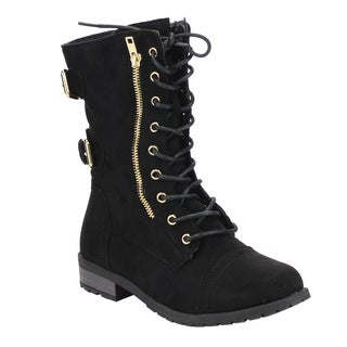 Combat Women's Boots - Shop The Best Brands Today - Overstock.com