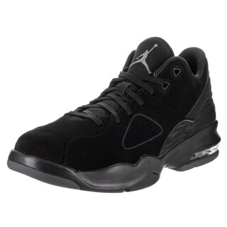 Nike Men's Jordan Black Synthetic Leather Basketball Shoe
