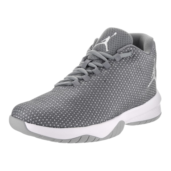 59b885118eac Shop Nike Jordan Kids B.Fly Cool Grey Basketball Shoes - Free ...