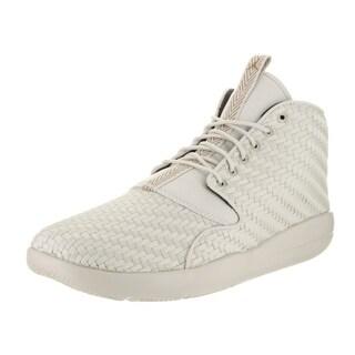 Nike Jordan Men's Eclipse Chukka Beige Fabric Basketball Shoes