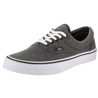 Vans Unisex Era (Suiting) Black Fabric Skate Shoes
