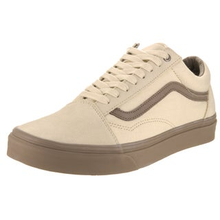Vans Unisex Old Skool (C D) Beige Canvas Skate Shoes