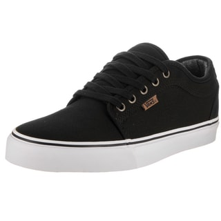 Vans Men's Chukka Low Black/White 10 oz. Canvas Skate Shoe