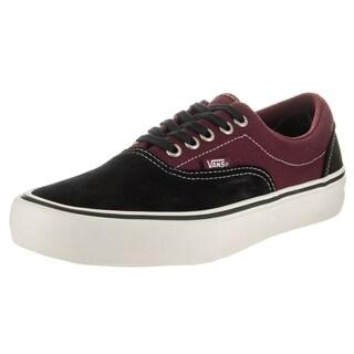Vans Men's Era Pro Black Canvas Skate Shoe