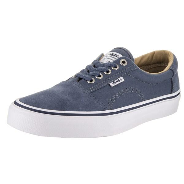 4d556c0f173 Shop Vans Men s Rowley Solos Blue Canvas Skate Shoes - Free Shipping ...
