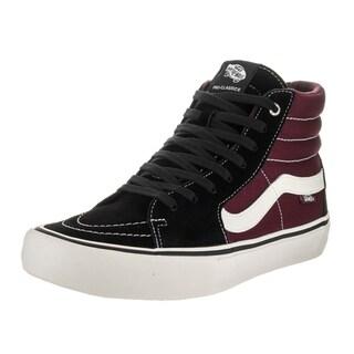 Vans Men's Sk8-Hi Pro Black Suede Skate Shoe