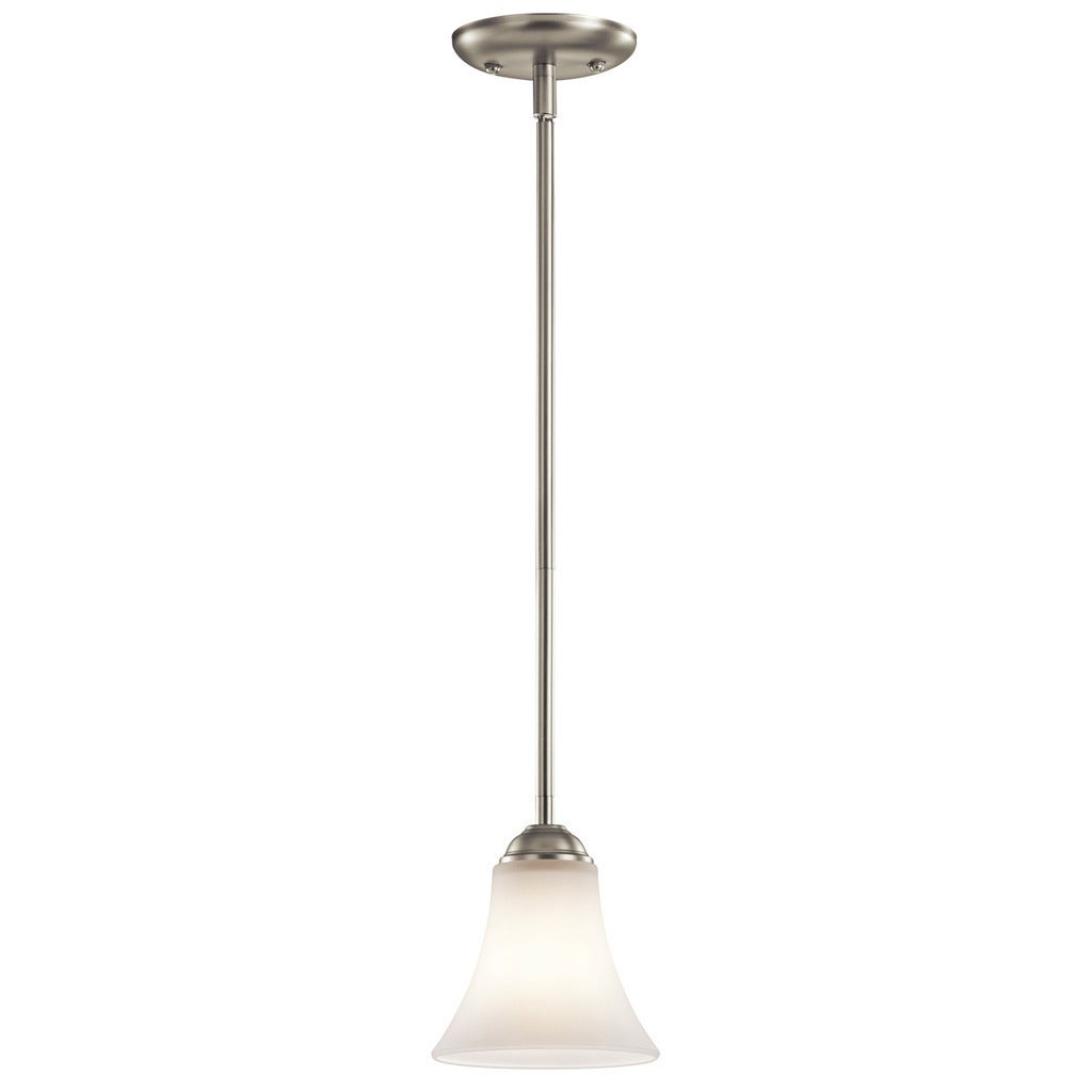Copper Grove Braeview 1-light Brushed Nickel Mini Pendant