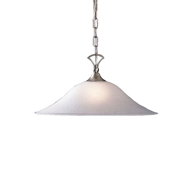 Kichler Lighting Hastings Collection 1-light Brushed Nickel Pendant