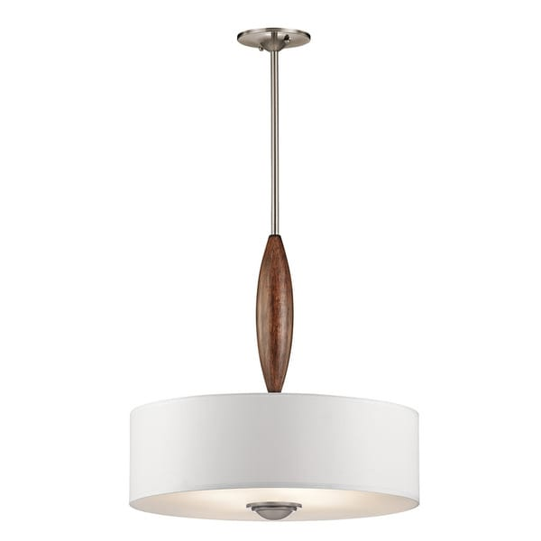 Kichler Lighting Lucille Collection 4-light Classic Pewter Pendant
