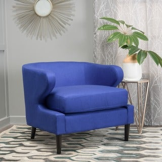 Delgado Fabric Accent Chair by Christopher Knight Home
