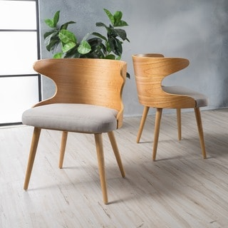 Kaius Mid-Century Dining Chair (Set of 2) by Christopher Knight Home