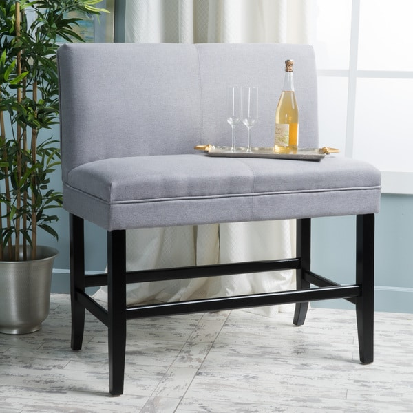 Elisse 28-inch Fabric Barstool Dining Bench by Christopher Knight Home