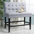 Kenan 29-inch Tufted Fabric Barstool Dining Bench by Christopher Knight Home