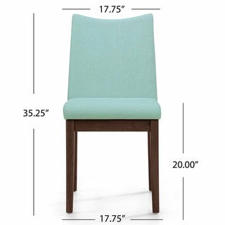 Dimitri Mid-Century Fabric Dining Chair (Set of 2) by Christopher Knight Home