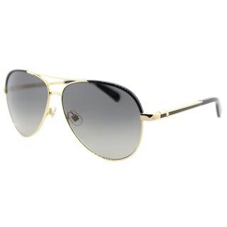 Kate Spade KS Amarissa RHL Gold/ Black Metal Gradient Aviator Sunglasses