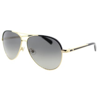 Kate Spade KS Amarissa RHL Gold/ Black Metal Gradient Aviator Sunglasses