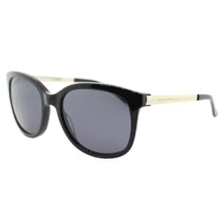 Kate Spade KS Gayla 807 Black Plastic Square Grey Lens Sunglasses
