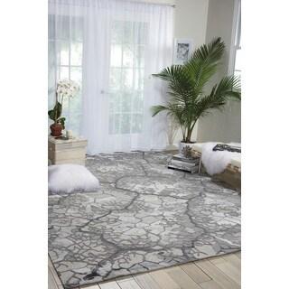 Nourison Divine Charcoal Area Rug (8'6 x 11'6)