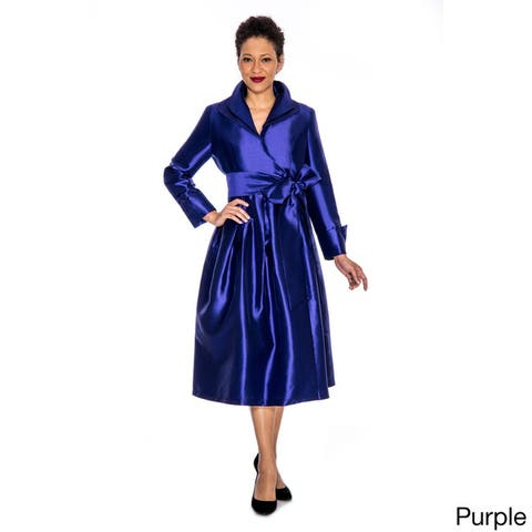 Giovanna Signature Fit and Flare Wrap Dress