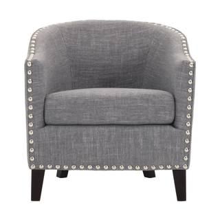 Stevie Club Chair, Smoke