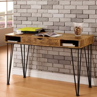 Mid-Century Industrial Rustic Design Home Office Computer/ Writing Desk