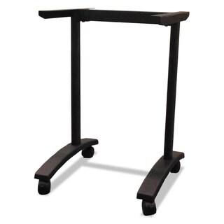 Alera Valencia Series Training Table T-Leg Base, 24-1/2w x 19-3/4d, Black