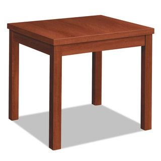 HON Laminate Occasional Table, Rectangular, 24w x 20d x 20h, Cognac