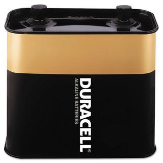Duracell Alkaline Lantern Battery 6 Volt Screw-Top 1/EA