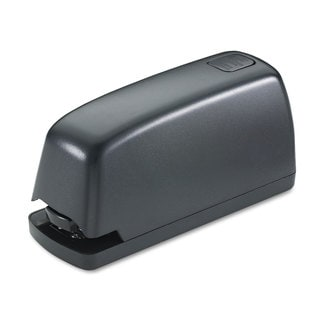 Universal Electric Full-Strip Stapler with Staple Channel Release 15-Sheet Capacity Black