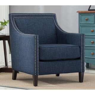 Tanner Blue Accent Chair by Greyson Living
