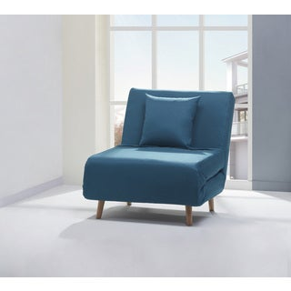 Vista Teal Convertible Chair Bed