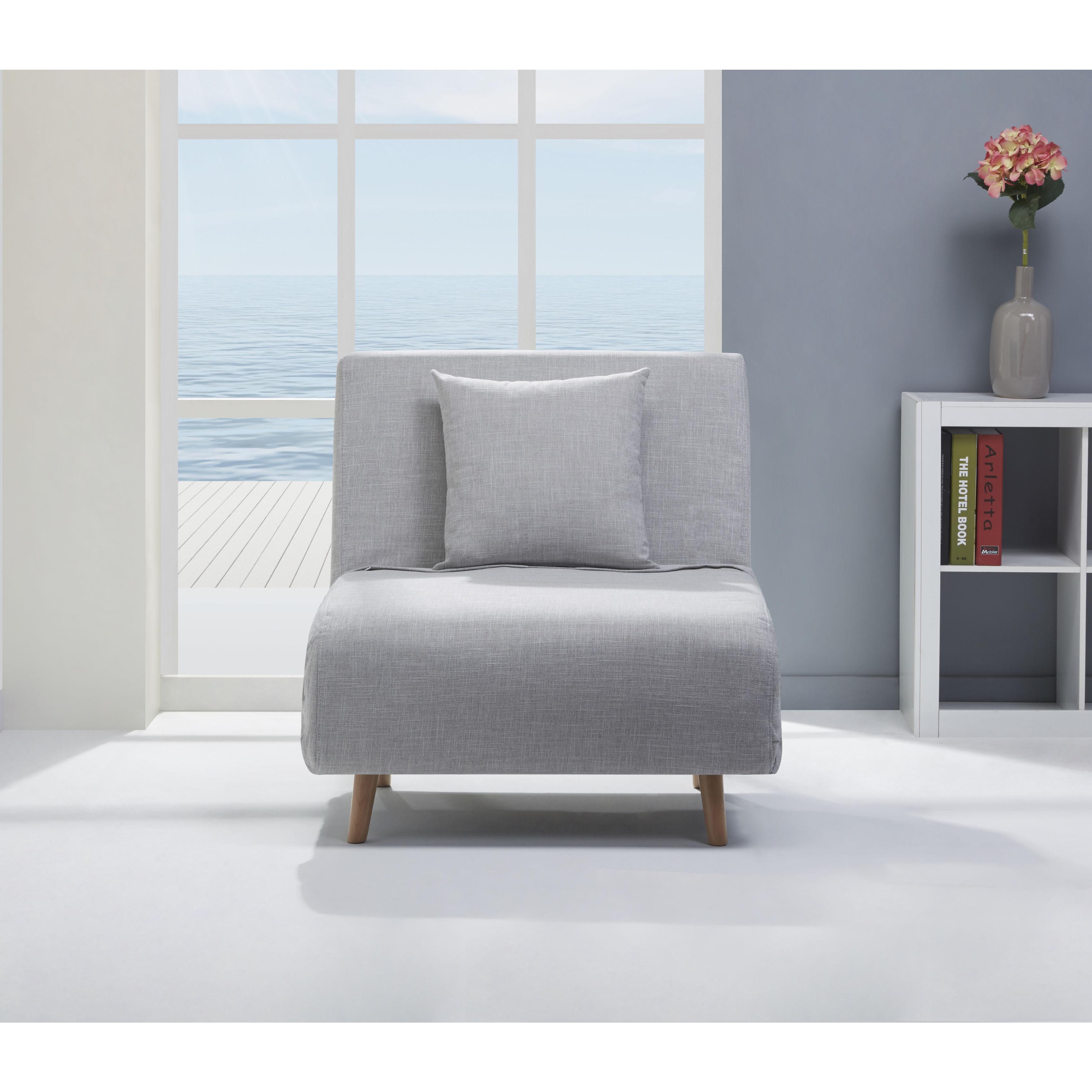 Vista Sand Convertible Chair Bed